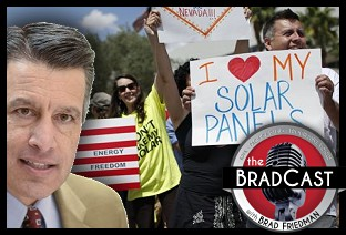 'Catastrophic' New Fees by 'Big Government' Republicans Destroy Solar Industry, Jobs in NV: 'BradCast' 1/14/2016