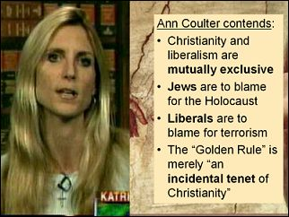 Image result for ann coulter quote on race