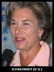 Image of Democratic Representative Schakowsky