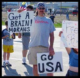Get a Brain! Morans. Go USA