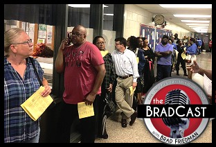 Election Day 2018 Was an Entirely Predictable National Mess as Voters Fight to Vote (Again): 'BradCast' ...